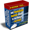 Thumbnail Automatically Updating Website MRR E-Book + Website + Bonus
