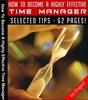 Thumbnail Effective Time Management MRR E-Book + Bonus