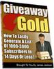 Thumbnail Give Away Gold MRR E-Book + Website + Bonus