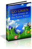 Thumbnail Go Green, Save Green MRR E-Book + Website + Bonus