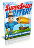 Thumbnail SuperSpeed Writer PLR Ebooks+ Bonus Software