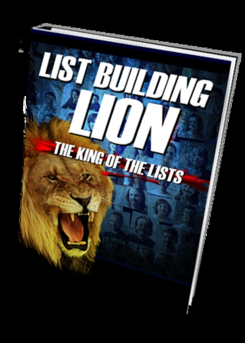 Pay for PLR List Building Lion+Bonus ListBuilder