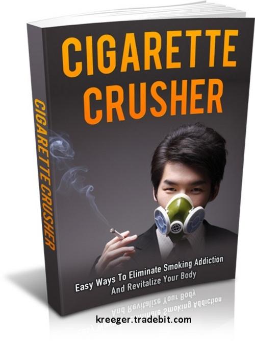 Pay for PLR Cigarette Crusher Ebook + Bonus (Reseller Minisite)