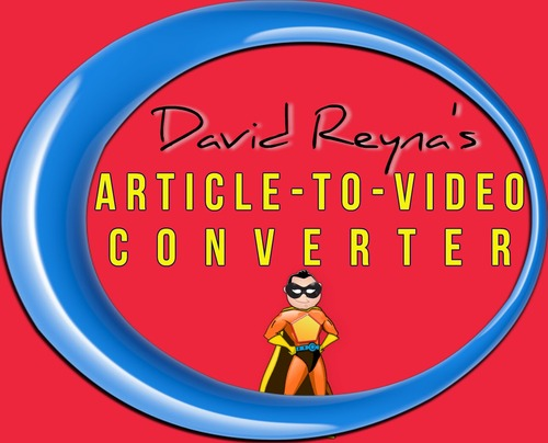 Pay for PLR Article To Video Converter +9k articles + Bonus Software
