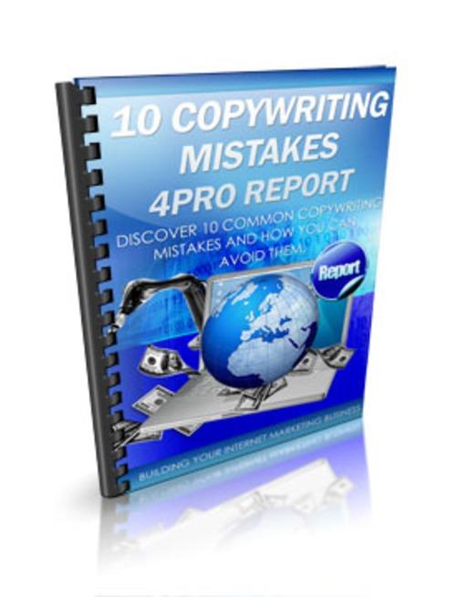 Pay for 10 Copyrighting Mistakes PLR E-Book + Website + Bonus