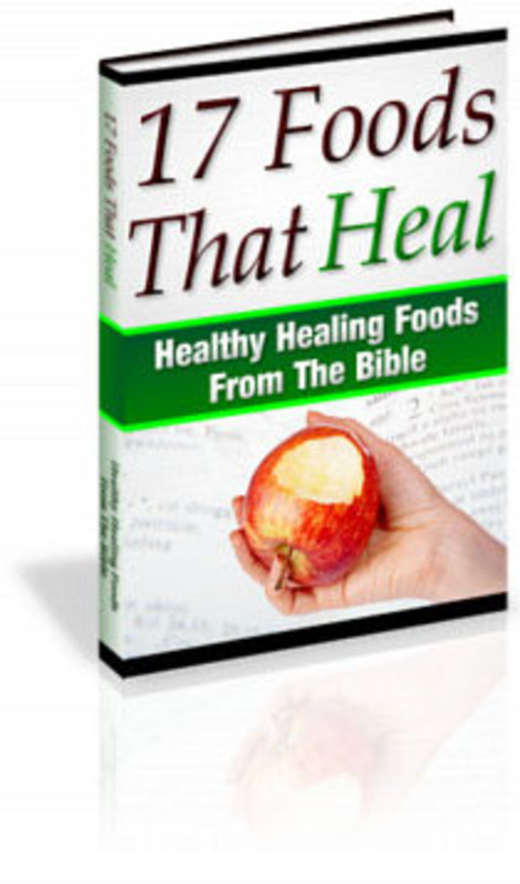 Pay for 17 Foods From The Bible For Healing PLR E-Book + Bonus