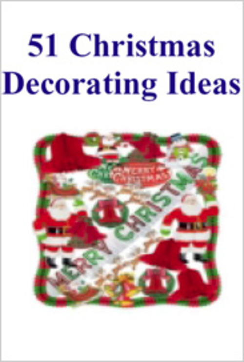 Pay for 51 Christmas Decor Ideas PLR E-book + Website + Bonus