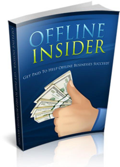 Pay for Offline Insider PLR E-book + Website + Bonus Software