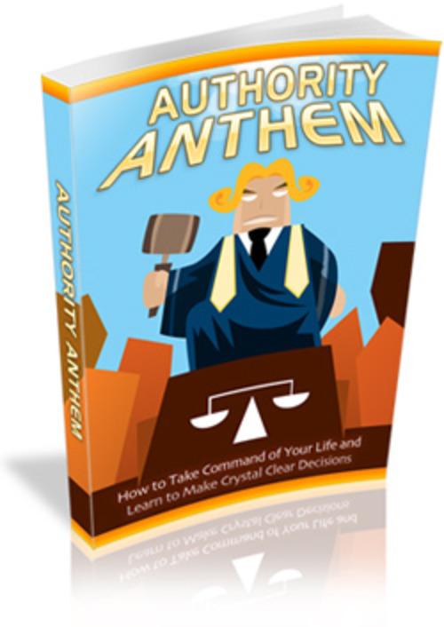 Pay for Authority Anthem MRR E-Book + Website + Bonus