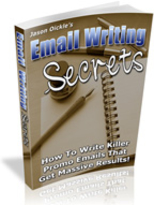 Pay for Email Writing Secrets MRR E-Book + Website + Bonus