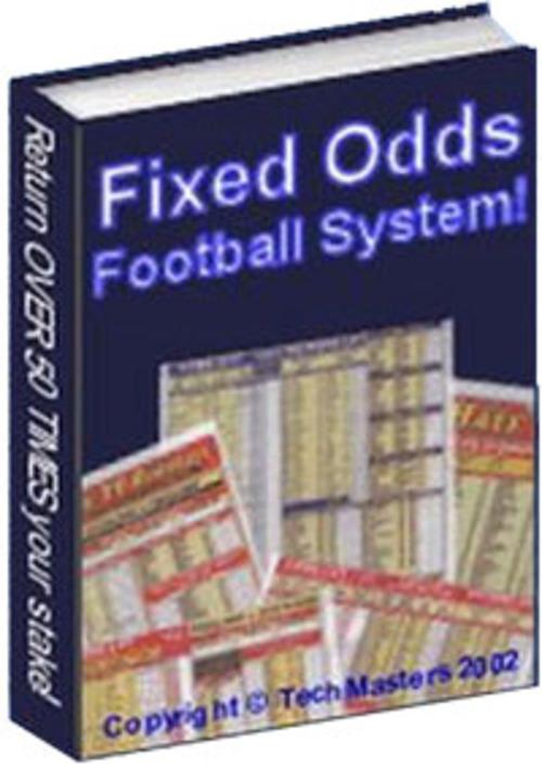 Pay for Fixed Odds Football System MRR E-Book + Website + Bonus