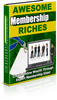 Thumbnail Awesome Membership Riches + PLR Licence