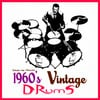 Thumbnail 1960s sixties vintage acoustic live drums 1960 drumkit