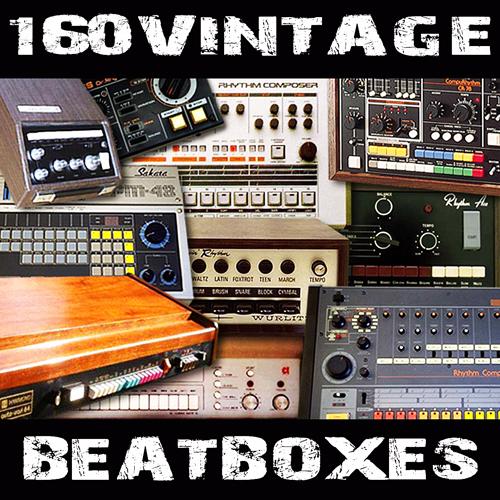 Pay for 160 vintage drum machines oldschool beatboxes wav sample
