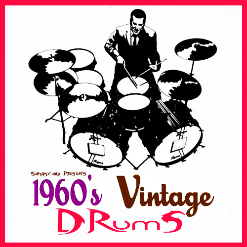 Pay for 1960s sixties vintage acoustic live drums 1960 drumkit
