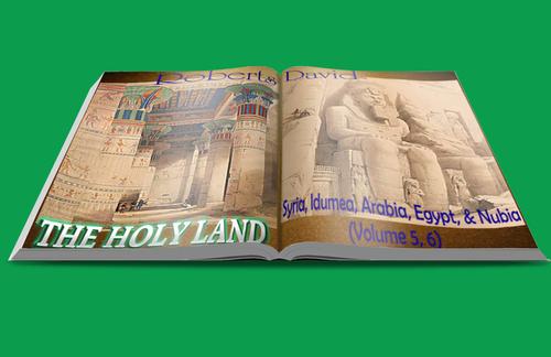 Pay for The Holy Land, Syria, Idumea, Arabia, Egypt, & Nubia.Vol 5,6