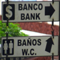 Stock Footage - Spanish Signs