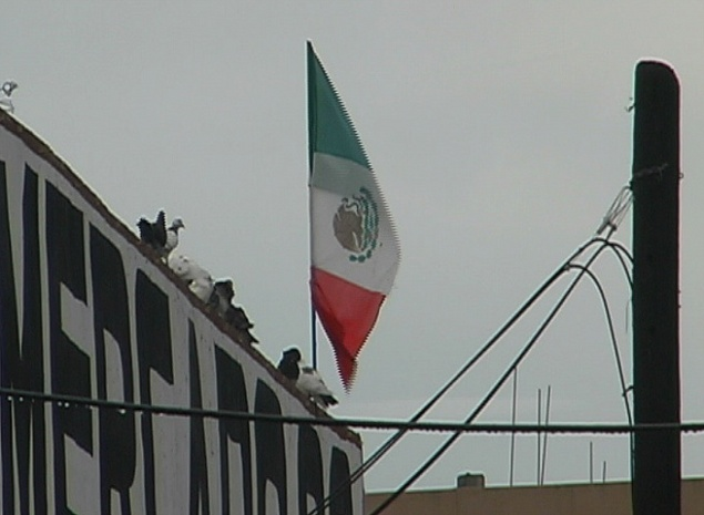 Pay for Stock Footage - Mexico Flag