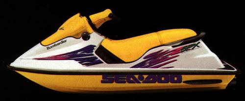 1997 Seadoo Repair Manual : Seadoo watercraft sp spx  gs