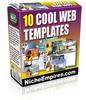 Thumbnail 10 Cool Web Templates PLR.zip