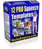 Thumbnail 12 Squeeze Templates PLR.zip