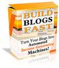 Thumbnail Build Blogs Fast