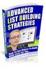 Thumbnail Advanced List Building Strategies