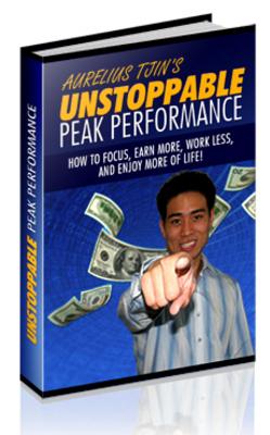 Pay for Unstoppable Peak Performance MRR.zip