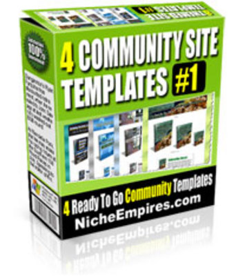 Pay for 4 Community Minisites USER.zip