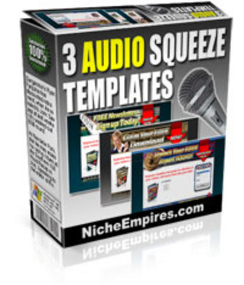 Pay for Audio Squeeze Page Templates USER.zip