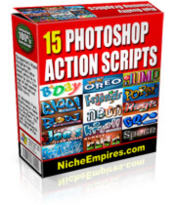 Pay for 15 Photoshop Actions PLR.zip
