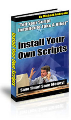 Pay for Install Your Own Scripts
