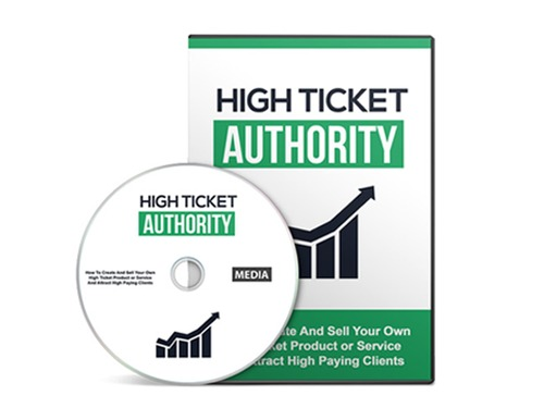 Pay for High Ticket Authority Gold - Selling High Ticket Products