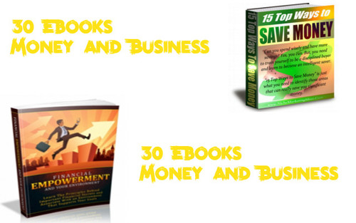 Pay for 30 ebooks Money and Business with 3 license