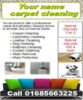 Thumbnail Carpet Cleaning Business Templates forms