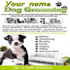 Thumbnail Dog grooming Business Templates forms