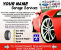 Thumbnail Garage Services Business Templates