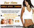 Thumbnail mobile spray tanning Business Templates