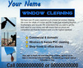 Thumbnail window cleaning Business Templates