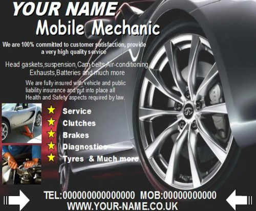 pay for mobile mechanic business templates forms