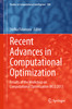 Thumbnail Recent Advances in Computational Optimization