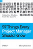 Thumbnail 97 Things Every Project Manager Should Know