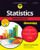 Thumbnail Statistics Workbook for Dummies with Online Practice