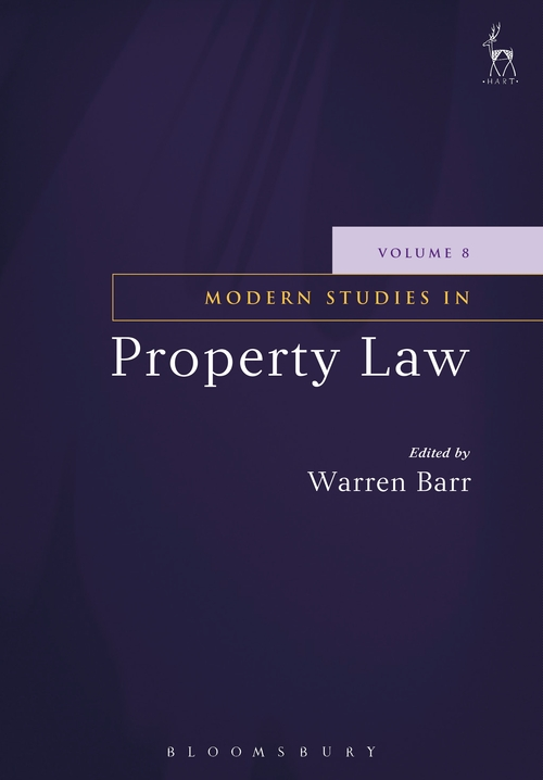 Pay for Modern Studies In Property Law (Volume 8)