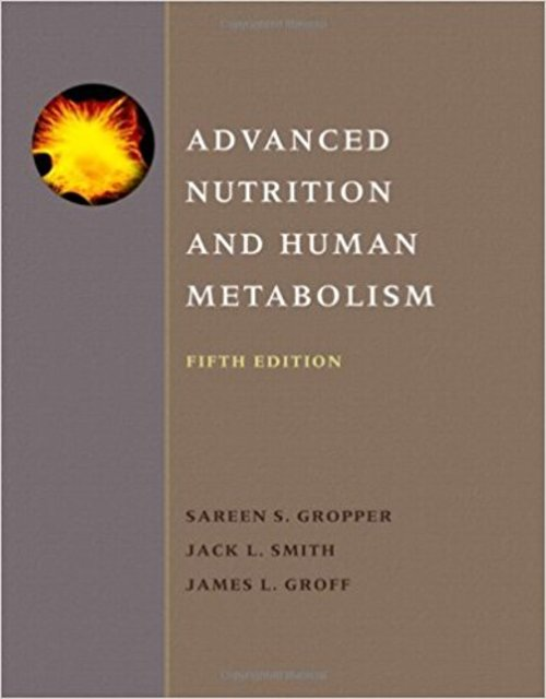 Pay for Advanced Nutrition and Human Metabolism