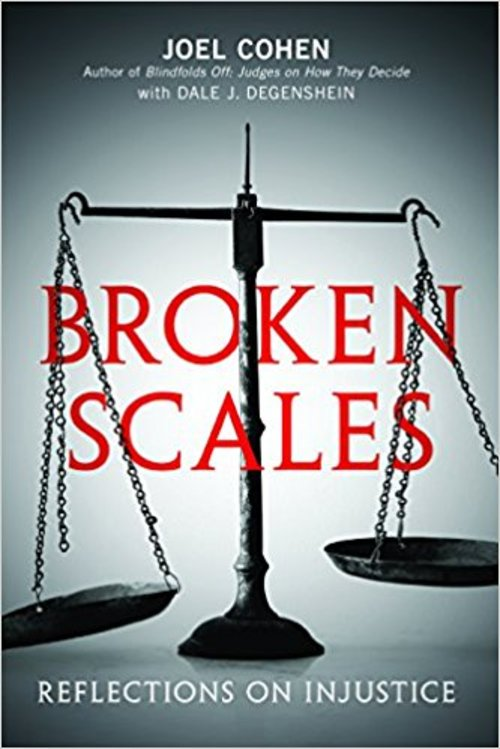 Pay for Broken Scales - Reflections on Injustice