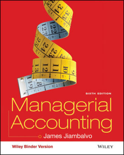 Pay for Managerial Accounting (6th Edition)