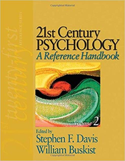 Pay for 21st Century Psychology - A Reference Handbook