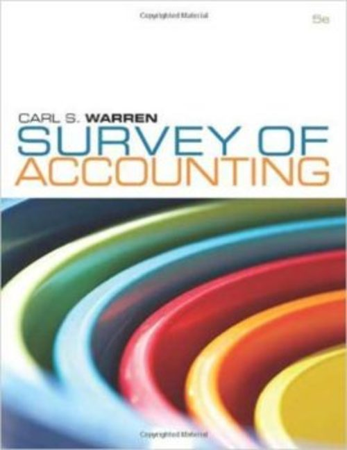 Pay for Survey of Accounting