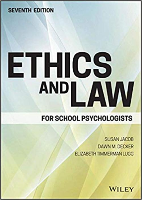 Pay for Ethics and Law for School Psychologists (7th Edition)
